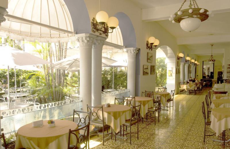 Dining at Gran Hotel Costa Rica.