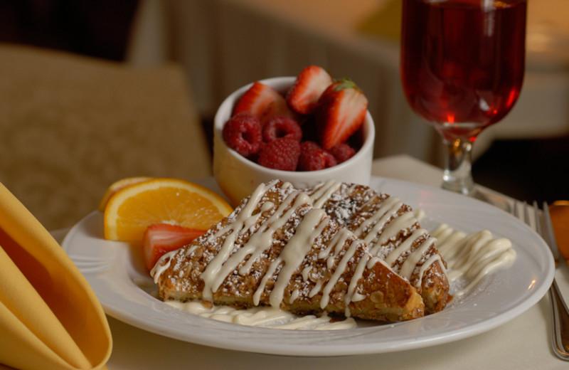 Breakfast at La Tourelle Resort & Spa.