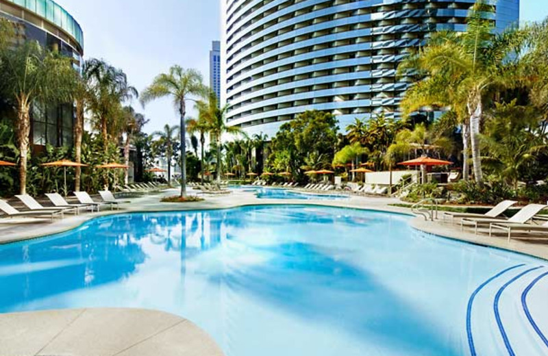 Outdoor pool at San Diego Marriott Marquis & Marina.