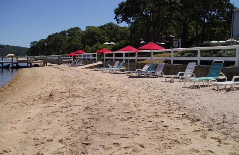 The beach at The Pridwin Beach Hotel & Cottages.