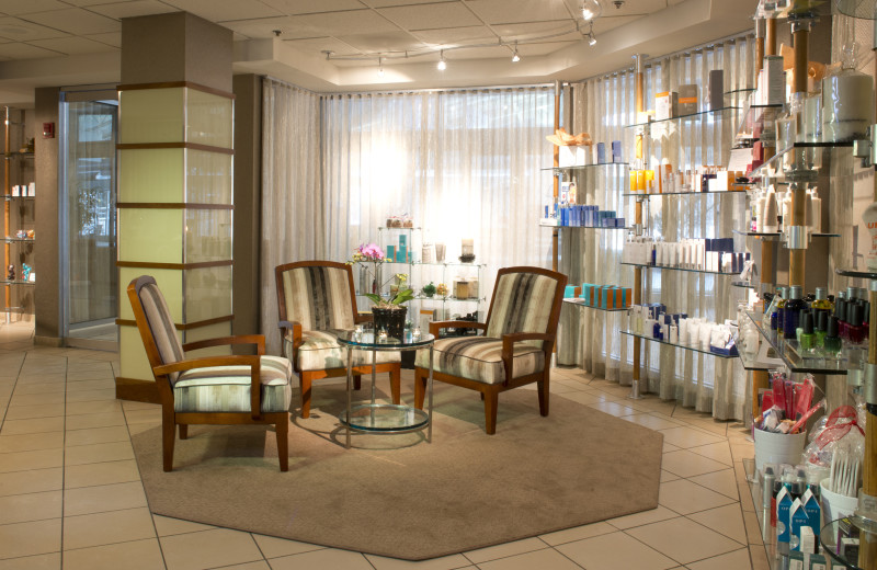 Spa store at Eaglewood Resort & Spa.