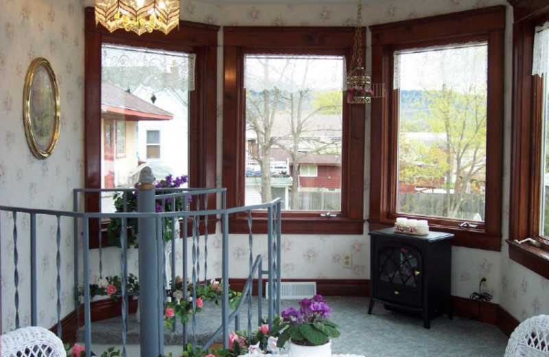 Interior view of Lilac & Lace Guest House.