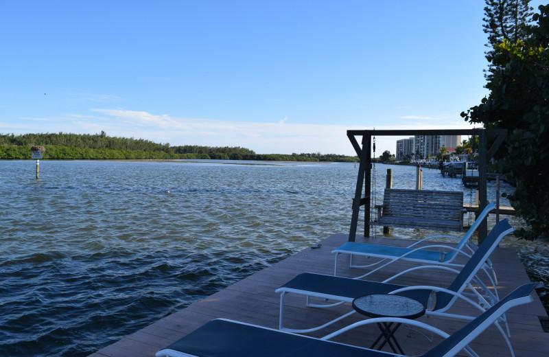 Dock at Turtle Beach Resort.