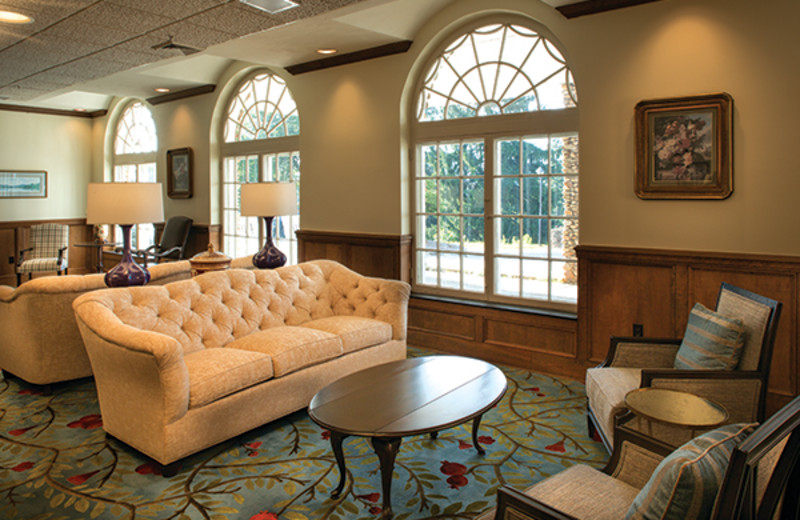Historic Lambuth Inn at Lake Junaluska Conference and Retreat Center offers comfortable parlors and lobby space.