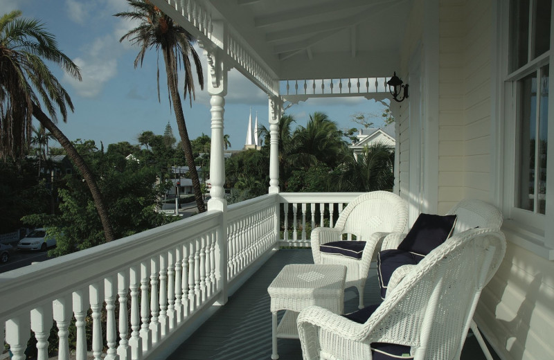 Balcony at Azul Key West.