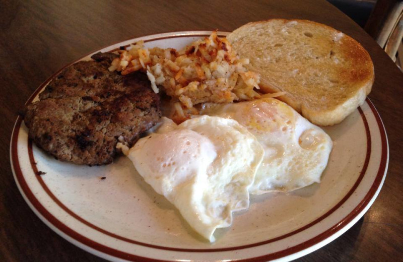 Breakfast at Rankin Ranch.  Proudly serving Rankin Ranch Beef.