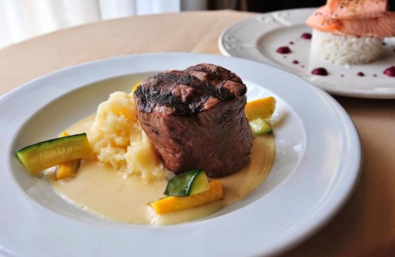 Dinner at The Geneva Inn.
