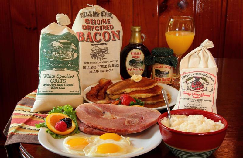 Breakfast at Dillard House.