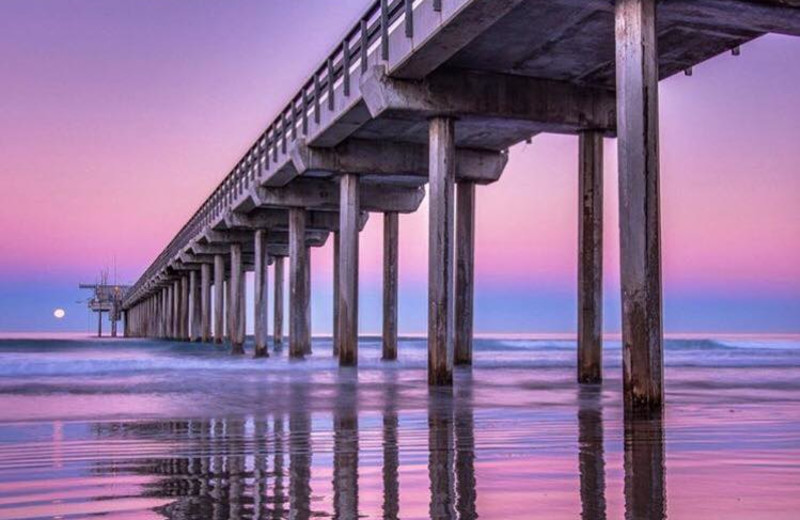 Fishing pier near Seabreeze Vacation Rentals, LLC-Orange County.