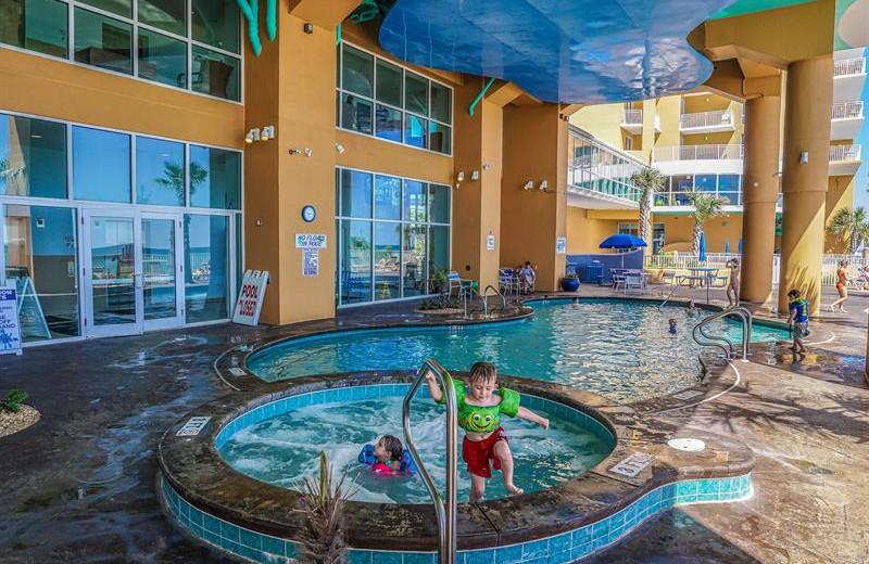 Pool at Splash Resort.