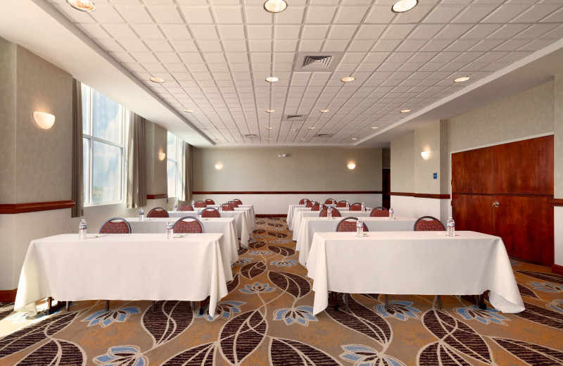 Meeting room at Holiday Inn Suites Ocean City.
