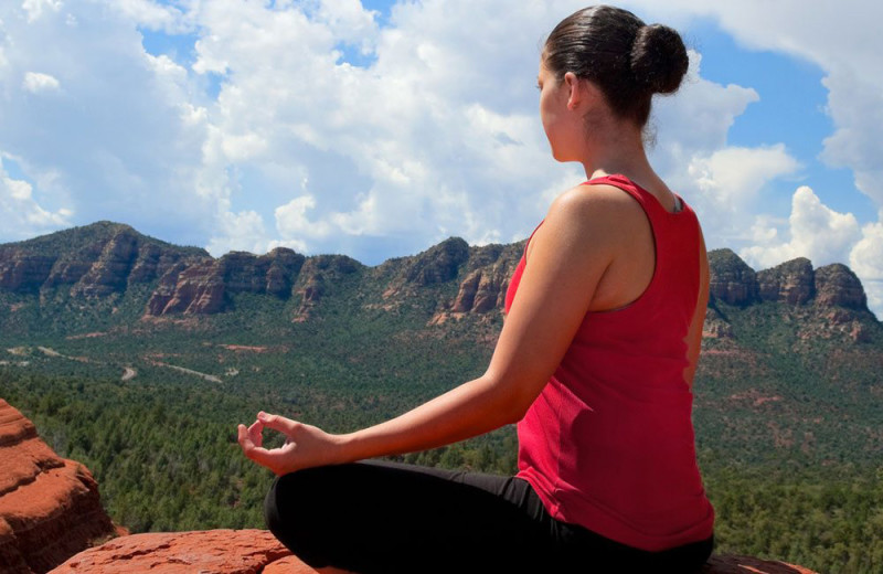 Yoga at Best Western Plus Inn of Sedona.