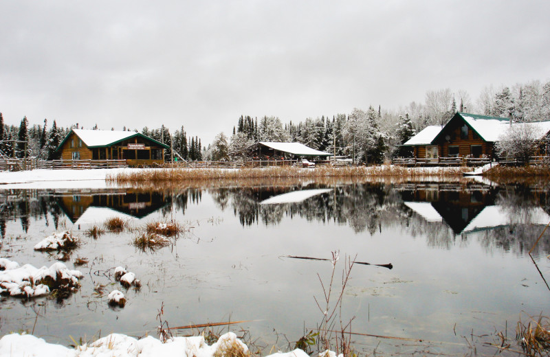 Winter time at Falcon Beach Ranch.