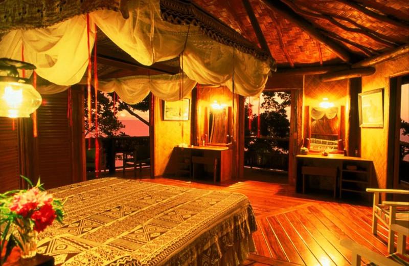 Guest room at Moody's Namena.