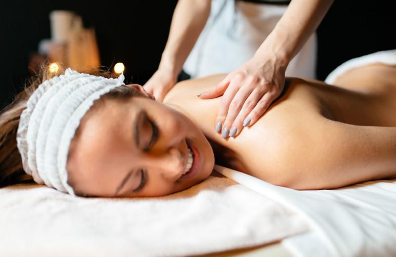 Massage at Sir Sam's Inn & Spa.