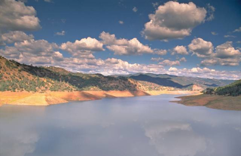 View of Lake Don Pedro.