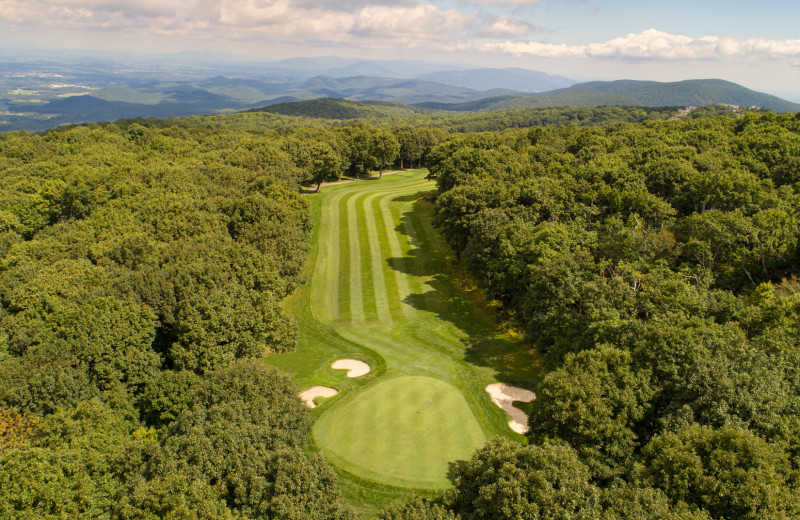 Golf course at Wintergreen Resort.