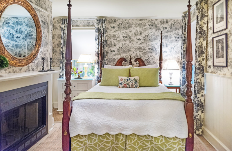 Guest room at Catherine Ward House.