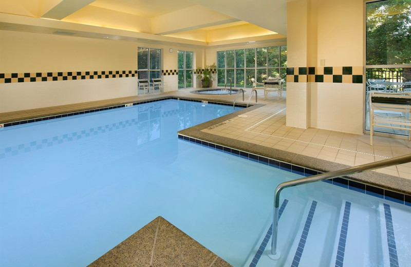 Indoor pool at Hilton Garden Inn Columbus.