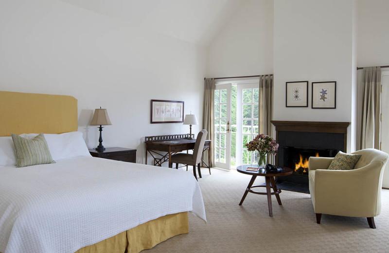 Cypress Grove Superior King room at Seal Cove Inn.
