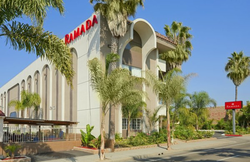 Exterior view of Ramada Limited Oceanside.