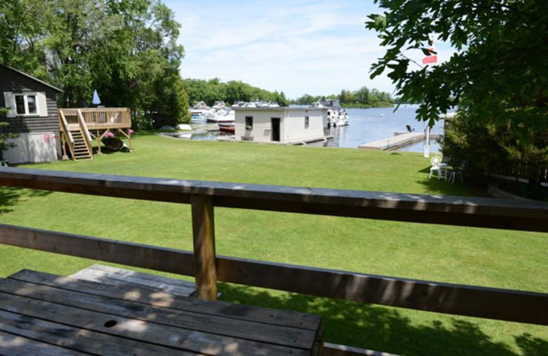 Lake view at Sunnylea.