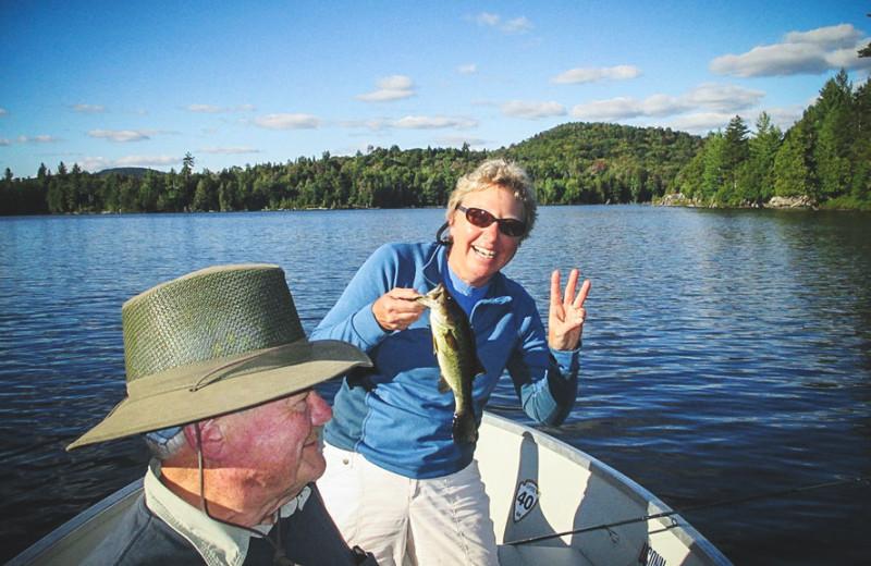 Fishing at Timberlock.