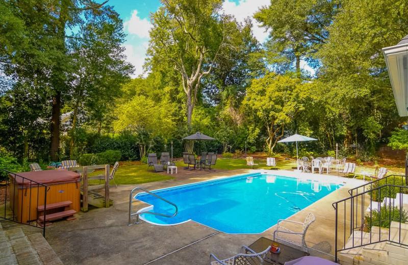 Rental pool at Sandhills Rentals.