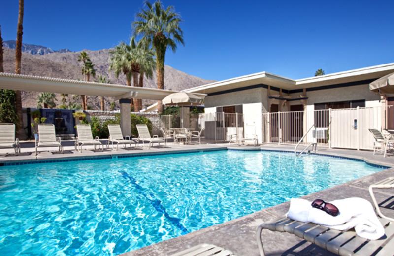 Outdoor pool at Azure Sky Resort.