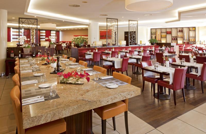 Dining at Mövenpick Hotel Geneva.