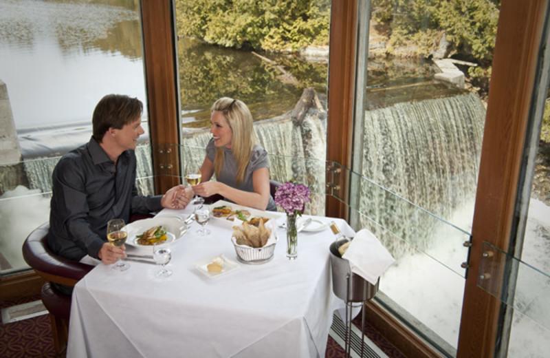 Dining at the Millcroft Inn & Spa.