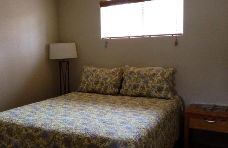 Guest room at Alhonna Resort.