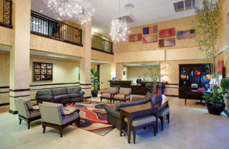 Lobby Area at Holiday Inn Express