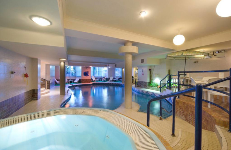 Indoor pool at Swallow St. George Hotel.
