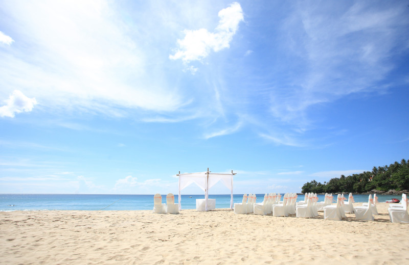 Weddings at Paradise Island Beach Club.
