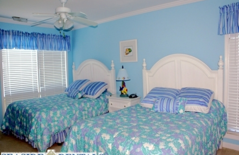 Double Bedroom at Seaside Rentals