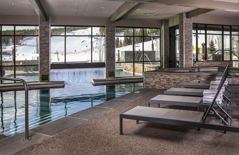 Indoor pool at Grand Colorado on Peak 8.