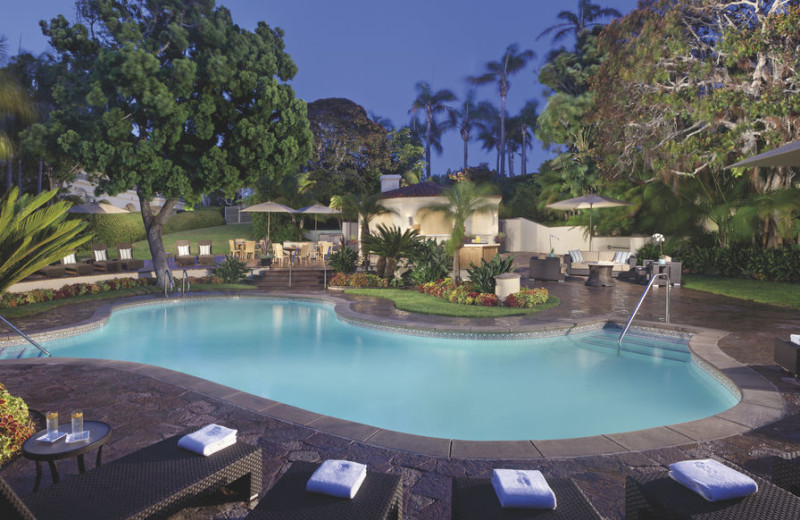 Outdoor pool at The Ritz-Carlton, Laguna Niguel.