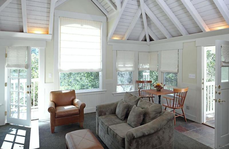 Oakview room at Meadowood Napa Valley.