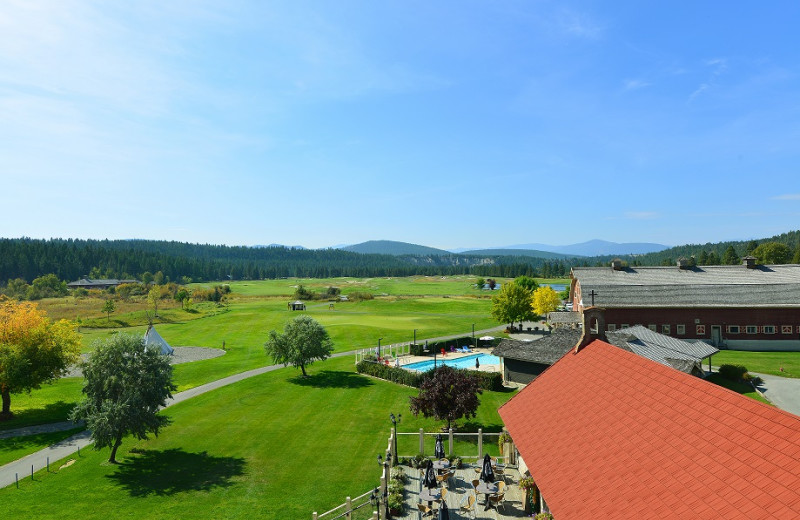 View from St. Eugene Golf Resort
