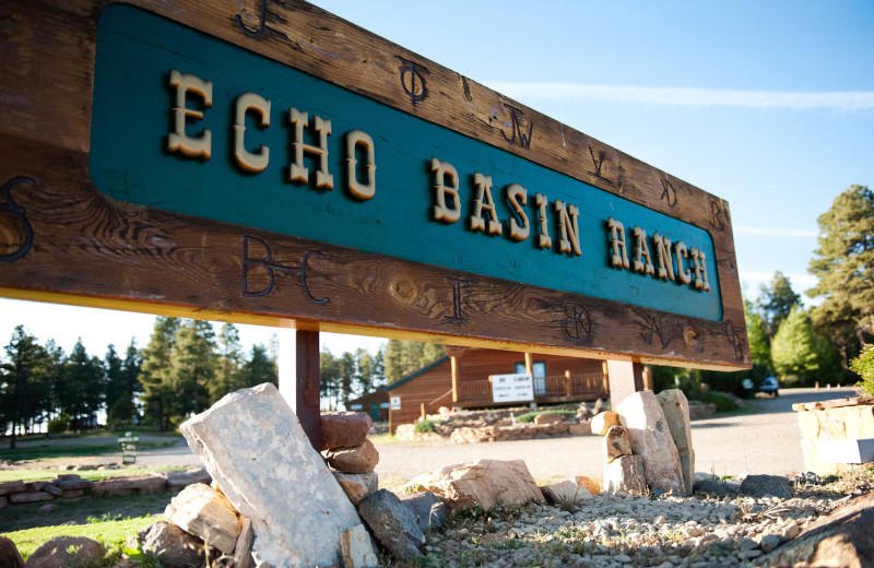 Exterior view of Echo Basin Cabin And RV Resort.