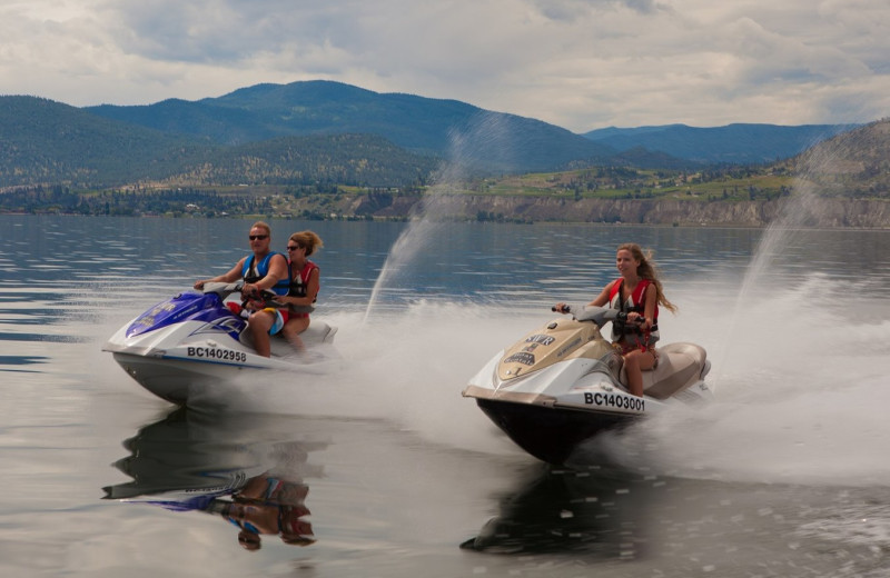 Water skis at Summerland Waterfront Resort.