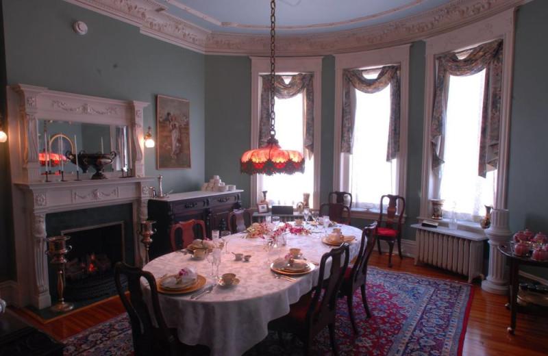 Dining room at Grace Manor Inn.