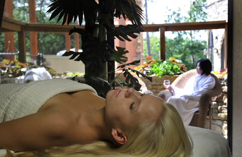 Spa treatments at Chula Vista Resort.