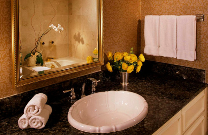 Bathroom at Sheraton New Orleans Hotel
