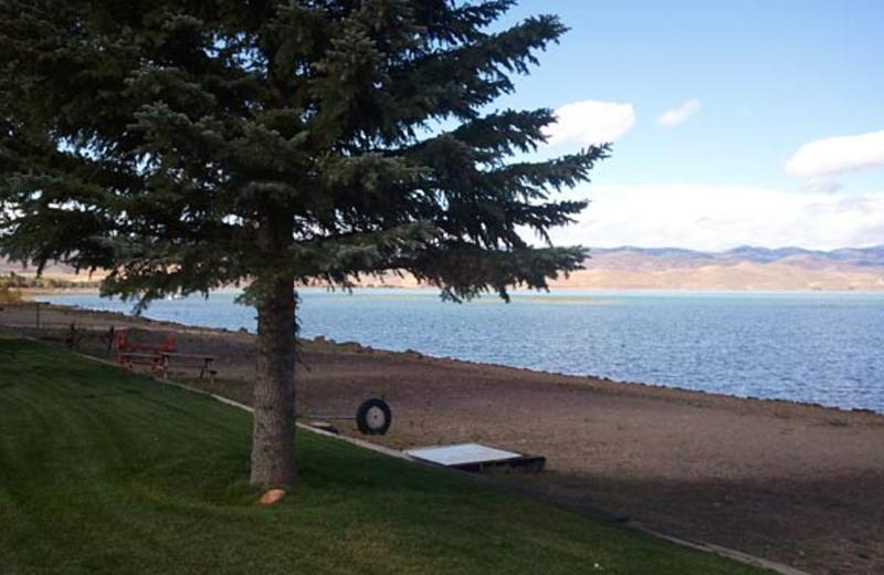 Beach at Utah Family Lodges.