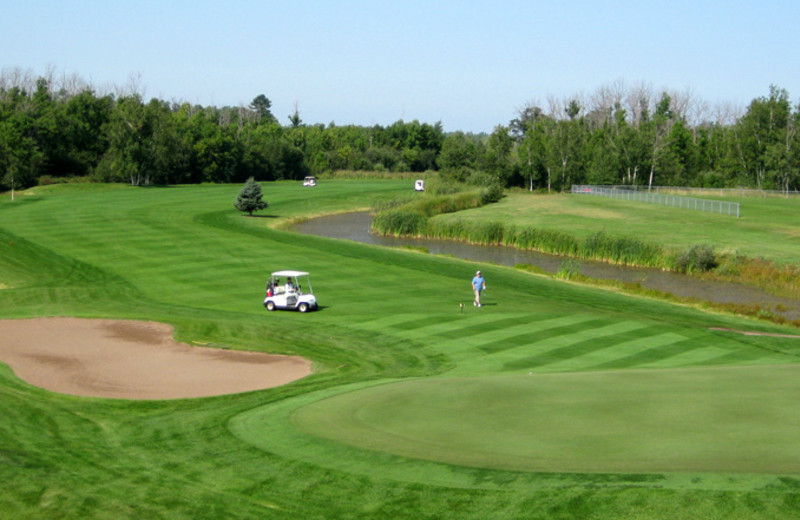 Fiddlestix Golf Course, located just a short drive from Appeldoorn's Sunset Bay Resort