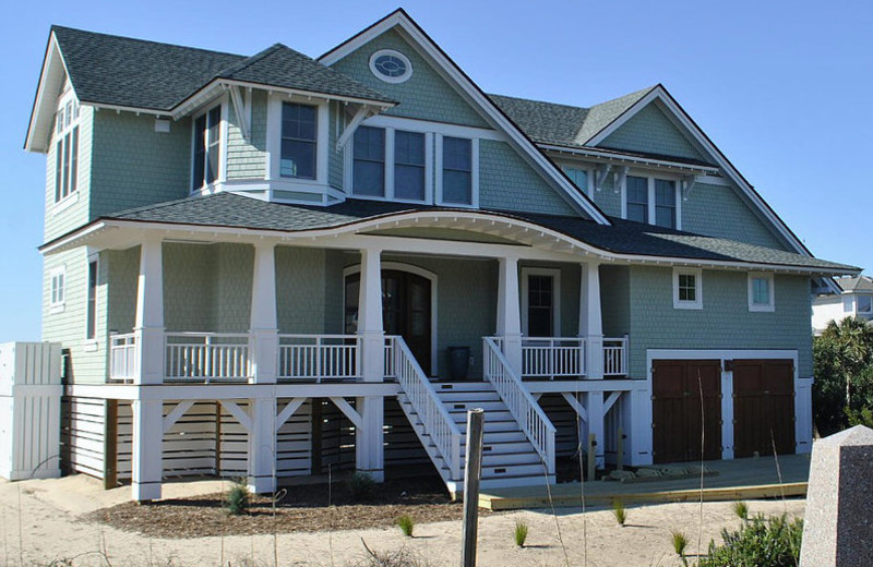 Rental exterior at Mary Munroe Realty: Bald Head Vacations