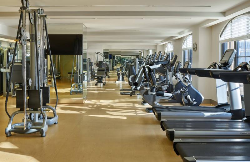 Fitness center at The St. Regis Atlanta.