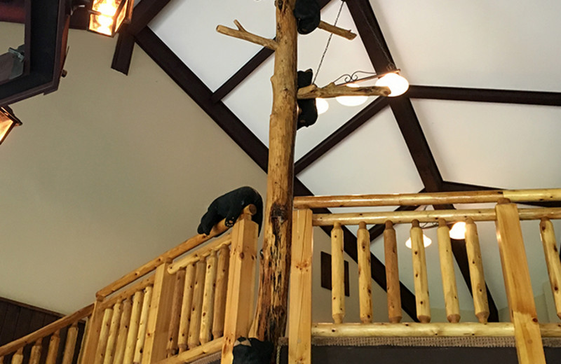 Treehouse loft at White Oak Lodge & Resort.